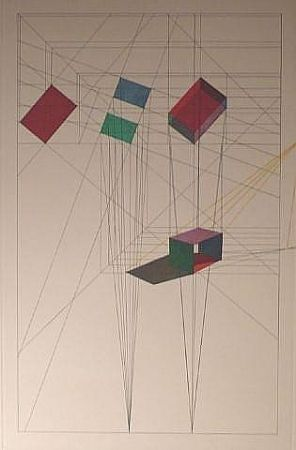 Lithographie Davis - Rotation- Tilt