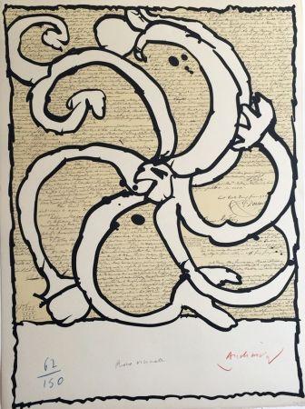 Lithographies et estampes originales contemporaines for Alechinsky lithographie