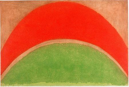 Eau-Forte Piza - Rouge-vert