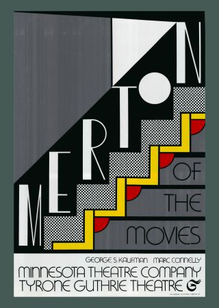 Sérigraphie Lichtenstein - Roy Lichtenstein 'Merton Of The Movies' 1968 Original Pop Art Poster