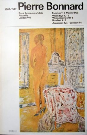 Lithographie Bonnard - Royal Academy of Arts