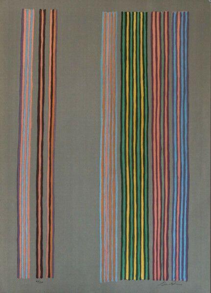 Sérigraphie Davis - Royal Curtain