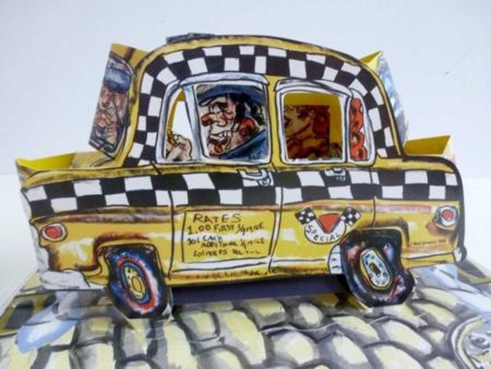 Lithographie Grooms - Ruckus Taxi (Mini)