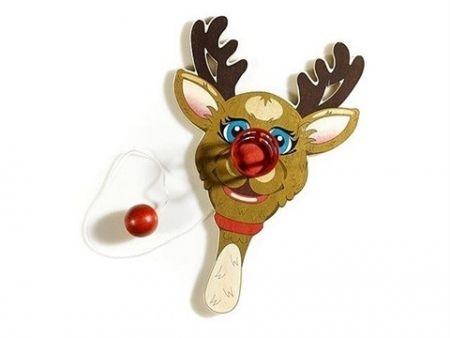 Multiple Koons - Rudolph the Red-Nosed Reindeer, Paddle Ball Game