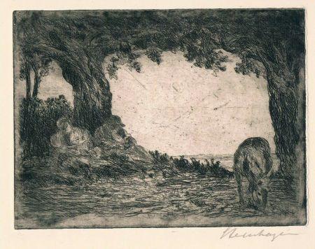 Gravure Steinhagen - Ruhe auf der Flucht