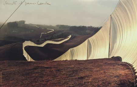 Offset Christo & Jeanne-Claude - RUNNING FENCE