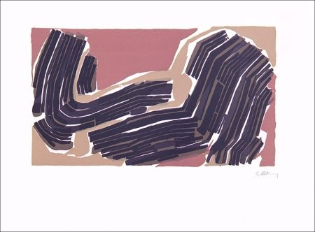 Lithographie Ubac - Rythme rompu