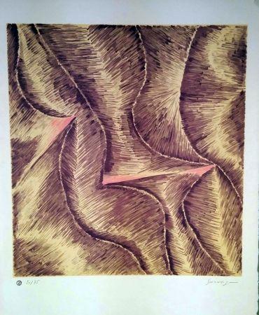 Lithographie Survage - Rythmes colorés