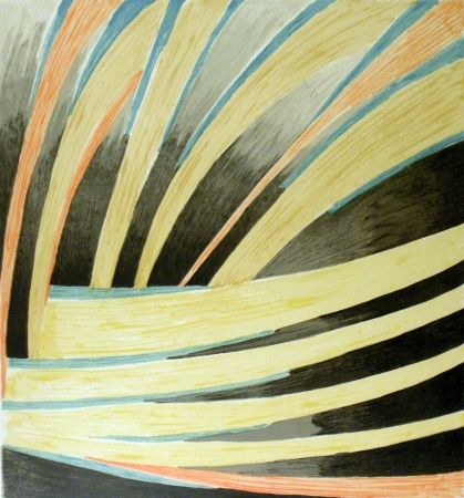 Lithographie Survage - Rythmes colorés 2