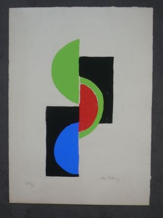 Pochoir Delaunay - Rythmes, couleurs