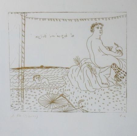 Pointe-Sèche Fassianos - Séchage au soleil
