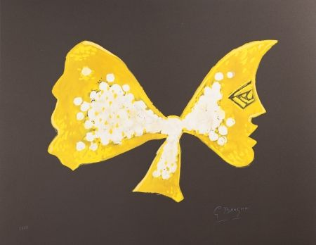 Lithographie Braque - Séléné