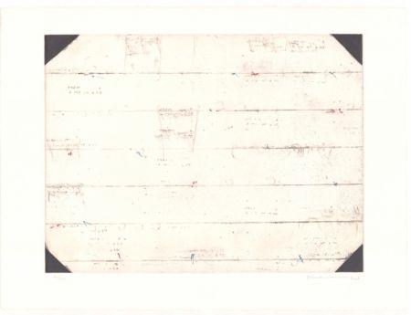 Lithographie Brinkmann - Série Barcelone IX