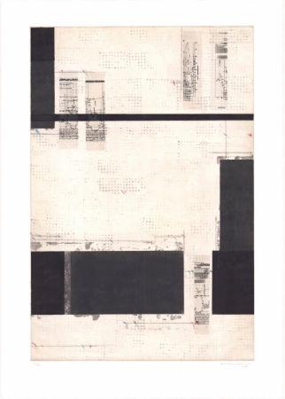 Lithographie Brinkmann - Série Barcelone V