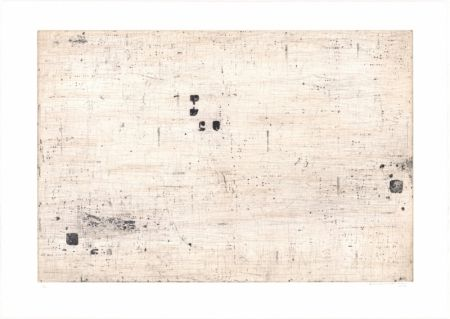 Lithographie Brinkmann - Série Barcelone VII