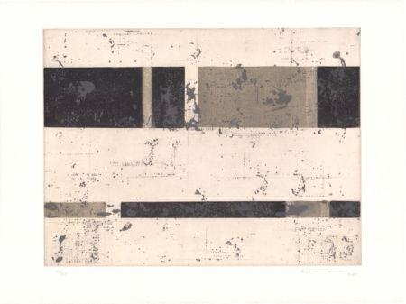 Lithographie Brinkmann - Série Barcelone X
