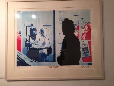Sérigraphie Fromanger - Série: Le peintre et le modèle