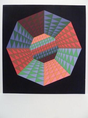 Sérigraphie Vasarely - Sérigraphie