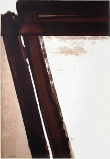 Sérigraphie Soulages - Sérigraphie n°15