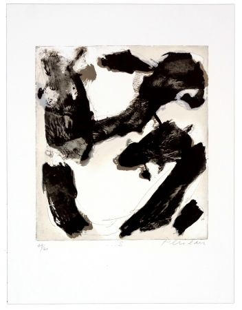 Lithographie Péneau - S