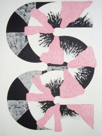 Lithographie Sugai - S (Rose)