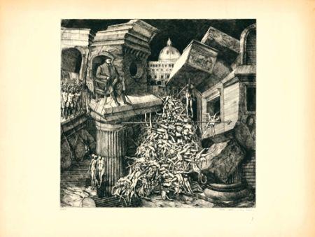 Eau-Forte Et Aquatinte Ackermann - Sacco di Roma