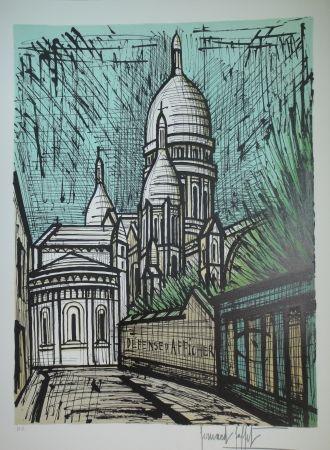Lithographie Buffet - Sacré Coeur