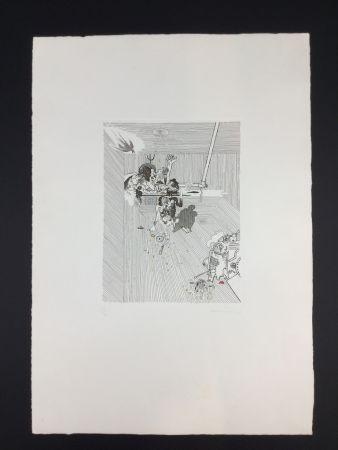 Gravure Ferroni - Sacrificio di Abramo