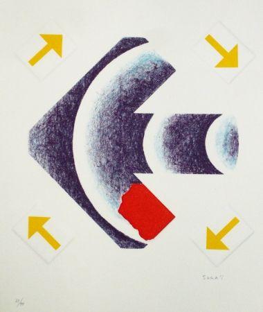 Lithographie Sugai - Sagitaire