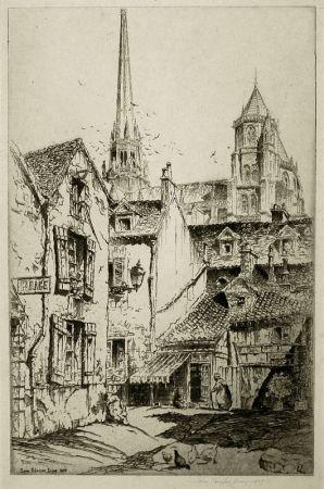 Gravure Arms - Saint Benigne, Dijon