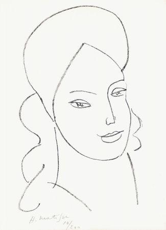 Lithographie Matisse - Saint Catherine, 1946