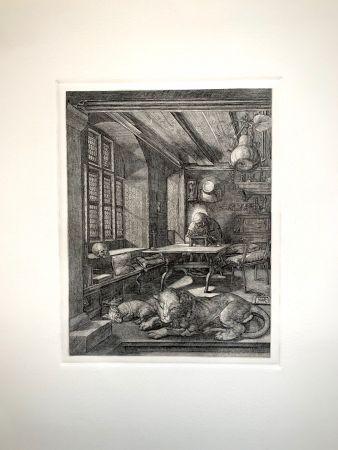 Gravure Durer - Saint Jeronimus