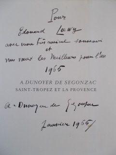 Gravure De Segonzac - Saint Tropez et la provence
