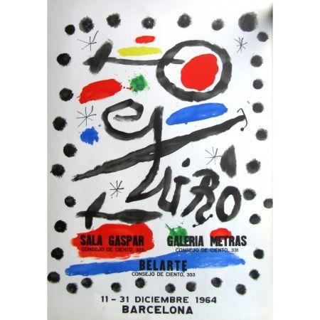 Affiche Miró - Sala Gaspar - Metras - Belarte