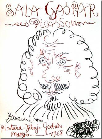 Lithographie Picasso - Sala Gaspar, Barcelona