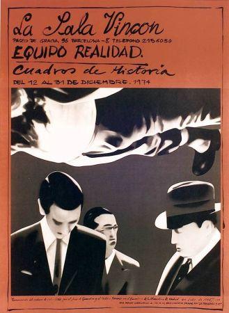 Affiche Equipo Realidad - Sala Vinçon - 1973
