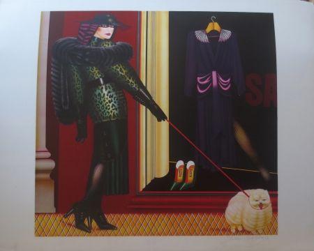Lithographie Okshteyn - Sale