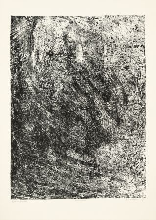 Lithographie Dubuffet - Salissures