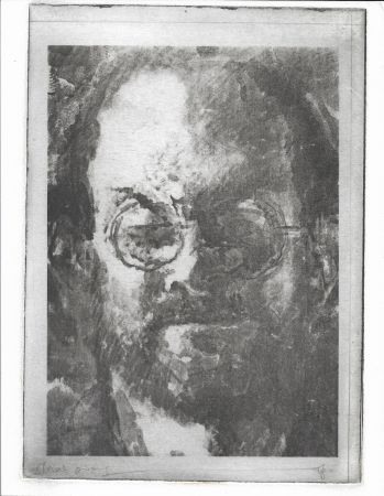 Lithographie Phillips - Salman Rushdie