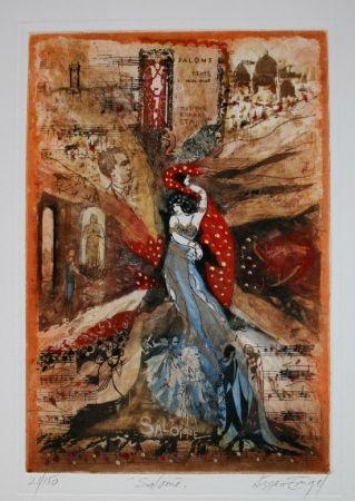 Gravure Engel - Salomé