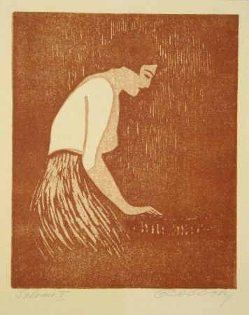 Linogravure Rotky - Salome