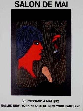 Lithographie Labisse - Salon de Mai
