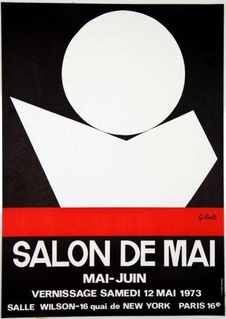 Lithographie Gilioli - Salon de Mai