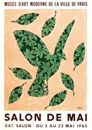 Affiche Magritte - Salon de mai 1965