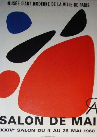 Affiche Calder - Salon de mai 1968