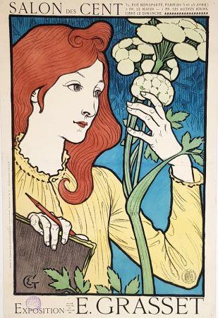 Lithographie Grasset - Salon Des Cents