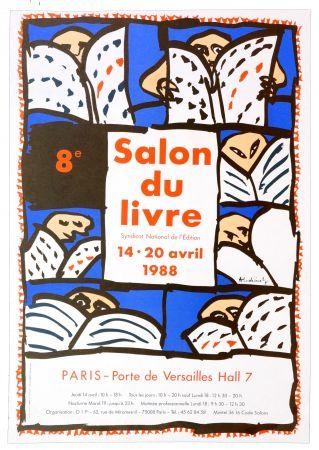 Affiche Alechinsky - Salon du Livre