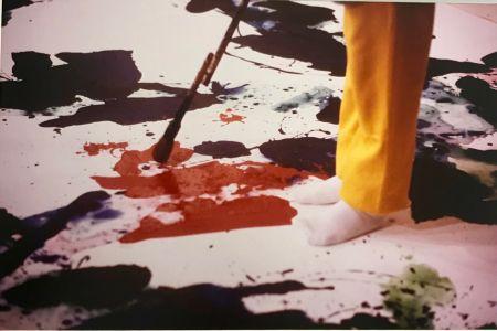 Photographie Blum - Sam Francis painting