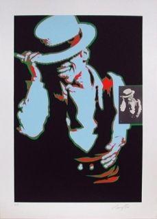 Lithographie Rancillac - SAMMY DAVIES