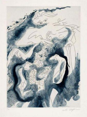Eau-Forte Et Aquatinte Masson - Samson et Dalida